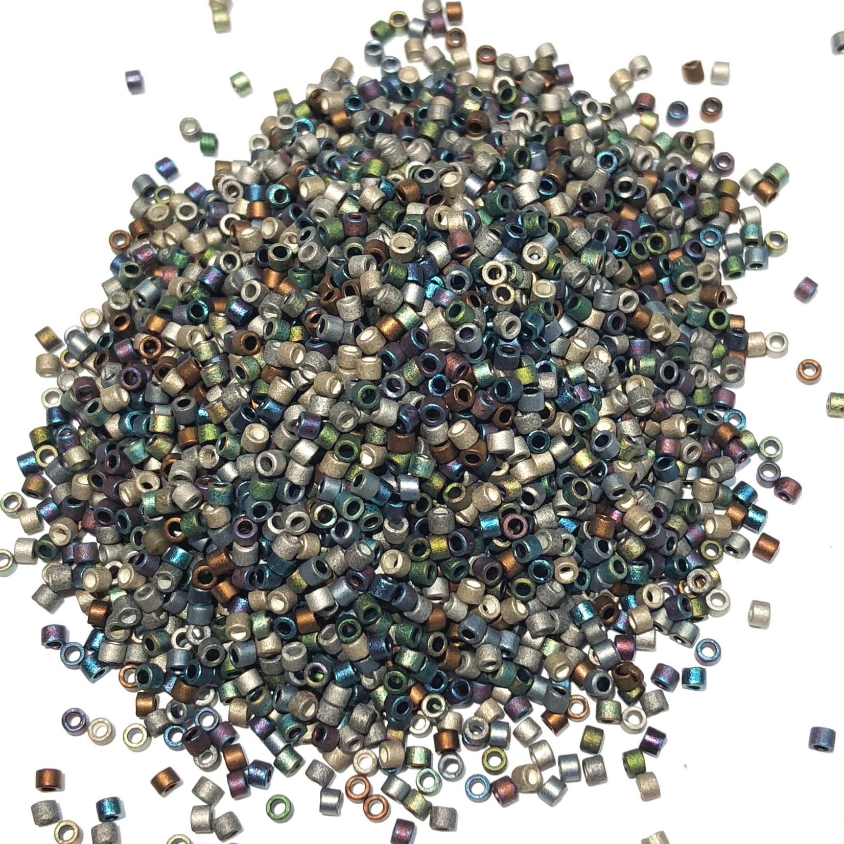 MIYUKI Delica 11-0 MIX Matte Heavy Metals 10g