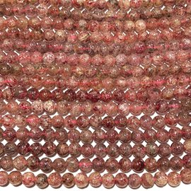Natural LEPIDOCROCITE 6mm Round