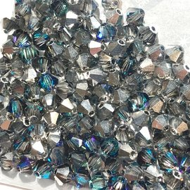 Preciosa Crystal 4mm Bicone Crystal Bermuda Blue 144pcs