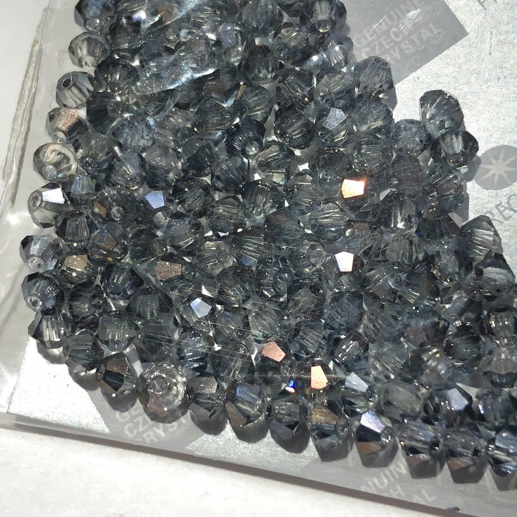 Preciosa Crystal 3mm Bicone Crys Valentinite 144pcs