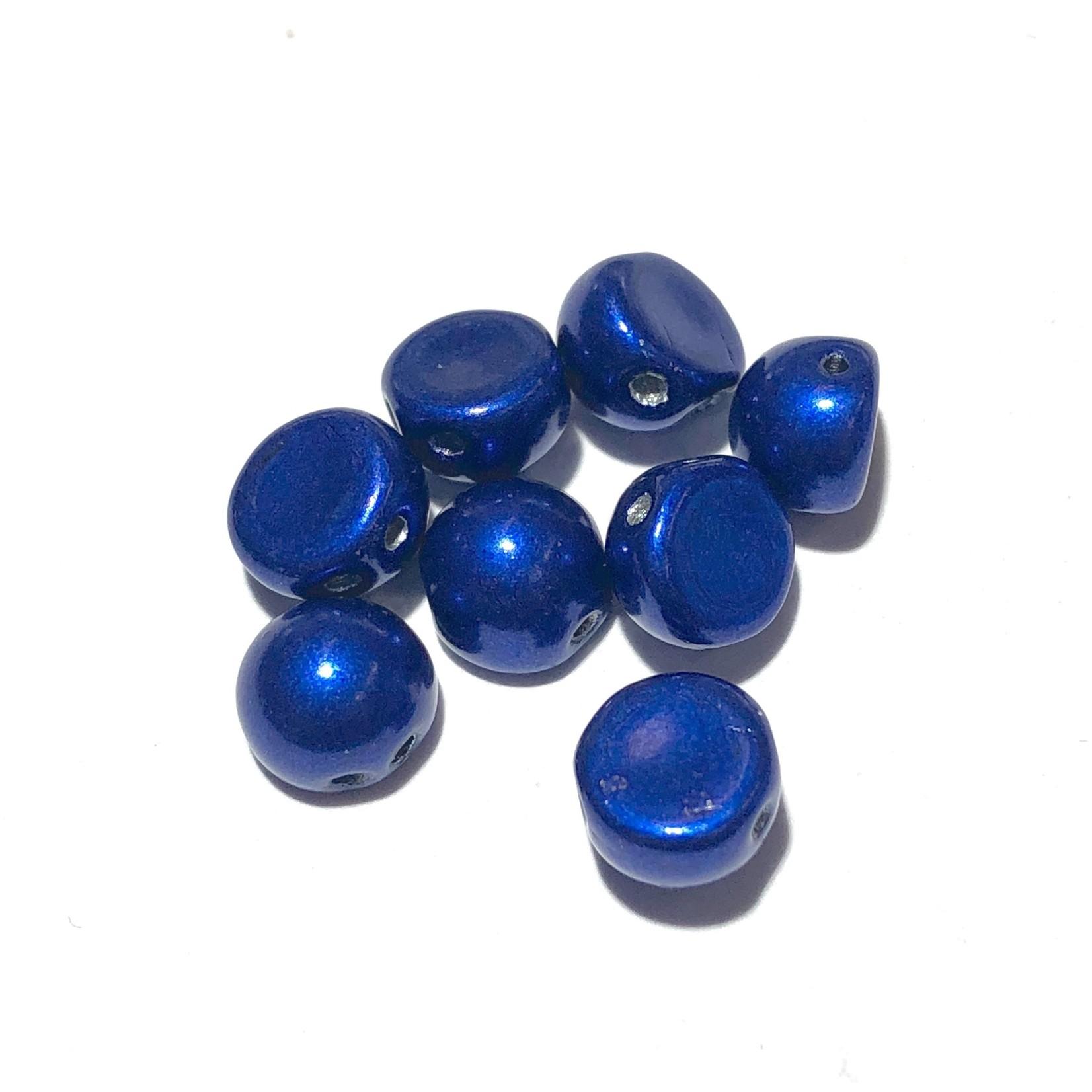 CzechMates CzechMates CABOCHON Sat Met Lapis Blue 10g