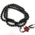 Natural Black Palmwood Beads 10mm 108 Pcs