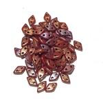 CzechMates DIAMOND Bronze Lust Iris Op Red 10g