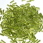 MIYUKI Bugle #2 Silver Lined Chartreuse 25g