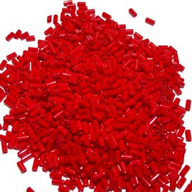 MIYUKI Bugle #1 Opaque Red 25g