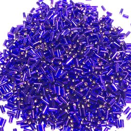 MIYUKI Bugle #1 Silver Lined Violet 25g