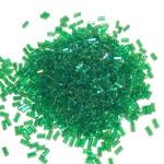 MIYUKI Bugle #1 Transparent Green AB 25g