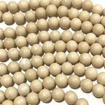 Natural River Stone 8mm Round