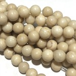Natural River Stone 6mm Round