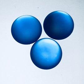 Lunasoft Cabochon Round 24mm Blueberry