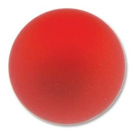 Lunasoft Cabochon Round 24mm Cherry