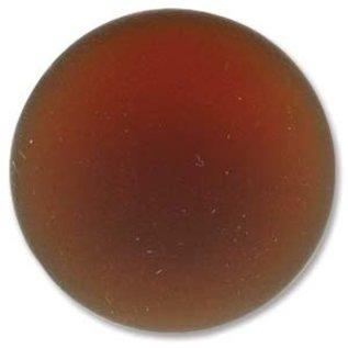 Lunasoft Cabochon Round 24mm Copper
