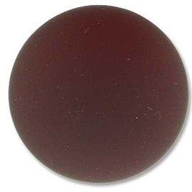 Lunasoft Cabochon Round 24mm Garnet
