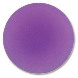 Lunasoft Cabochon Round 24mm Grape