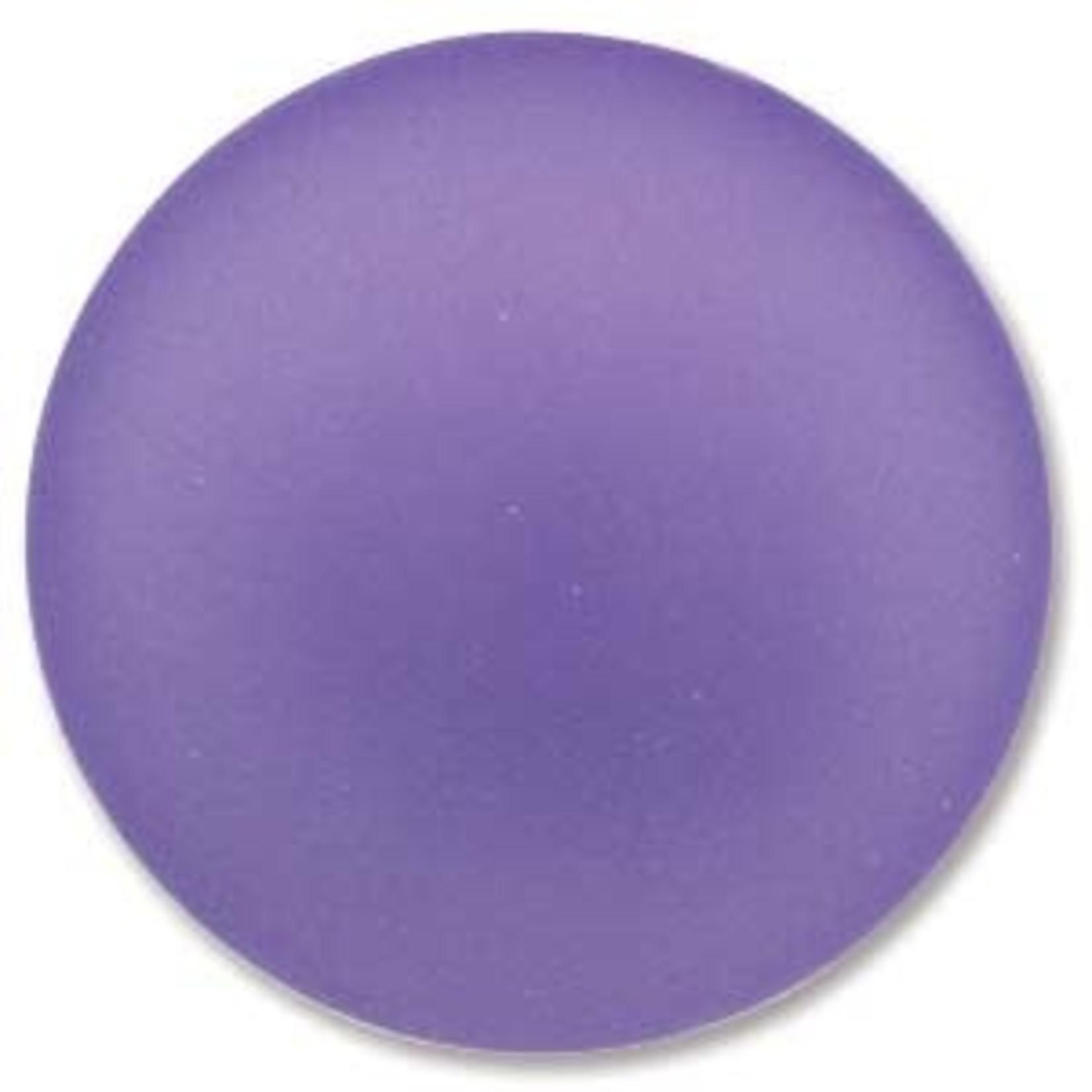 Lunasoft Cabochon Round 24mm Lavender