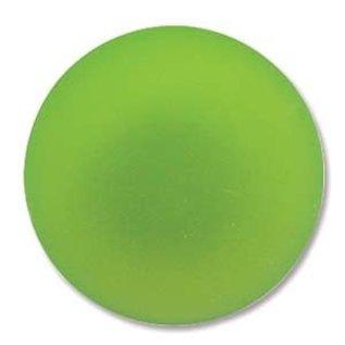 Lunasoft Cabochon Round 24mm Lime