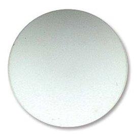 Lunasoft Cabochon Round 24mm Opaque White
