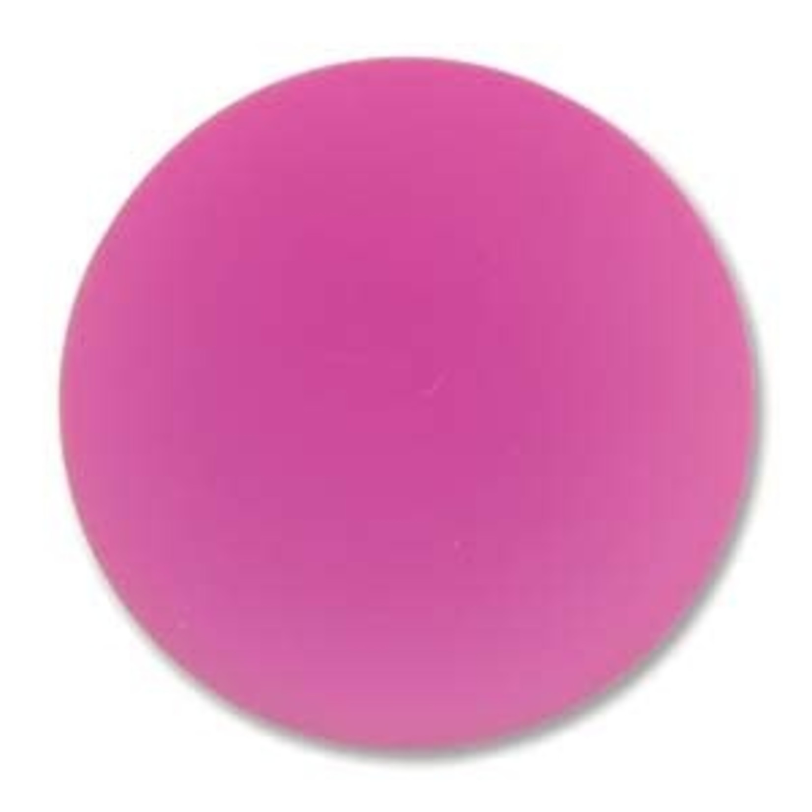 Lunasoft Cabochon Round 24mm Raspberry