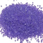 MIYUKI Delica 11-0 Crystal Lined Purple Ceylon 10g