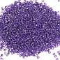 MIYUKI Delica 11-0 Silver Lined Purple 10g