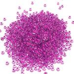PRECIOSA 10-0 Seed Beads Crystal Lined Neon Purple 22.5g