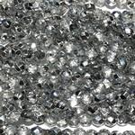 MATUBO Firepolish Silver 1/2 4mm
