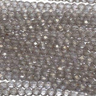 MATUBO Firepolish Gold Marbled Alexandrite 4mm