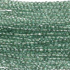 MATUBO Firepolish Silver Lined Prairie Grass 4mm