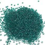MIYUKI Rocaille 11-0 Emerald Lined Light Grey 25g