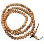 Natural Asian Yew Wood Beads 8mm 108 Pcs