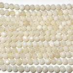 Mother of Pearl Natural 6mm Round