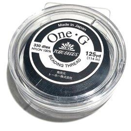 TOHO One-G Thread Black 125 yd