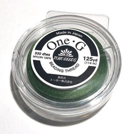TOHO One-G Thread Green 125 yd