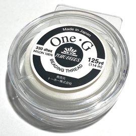 TOHO One-G Thread White 125 yd