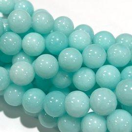 Common Jade Robin's Egg Blue 8mm Round