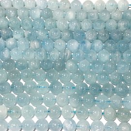 Aquamarine Natural Blue Grade A 8mm Round