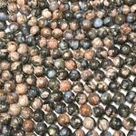 Natural QUE SERA Stone (Vulcanite) 8mm Round