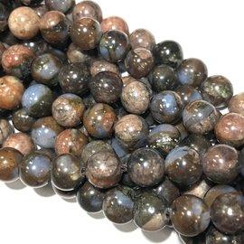Natural QUE SERA Stone (Vulcanite) 6mm Round