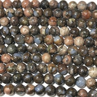 Natural QUE SERA Stone (Vulcanite) 6mm Round