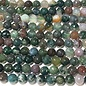 INDIAN AGATE 8mm Faceted