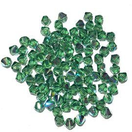 SWAROVSKI Bicone 4mm Erinite AB 100pcs