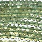 PREHNITE Natural Grade A 8mm Round Beads