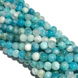 HEMIMORPHITE Natural Grade AA 6mm Round