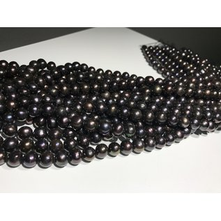 FRESH WATER PEARLS 9mm Potato (Purple-Bronze)