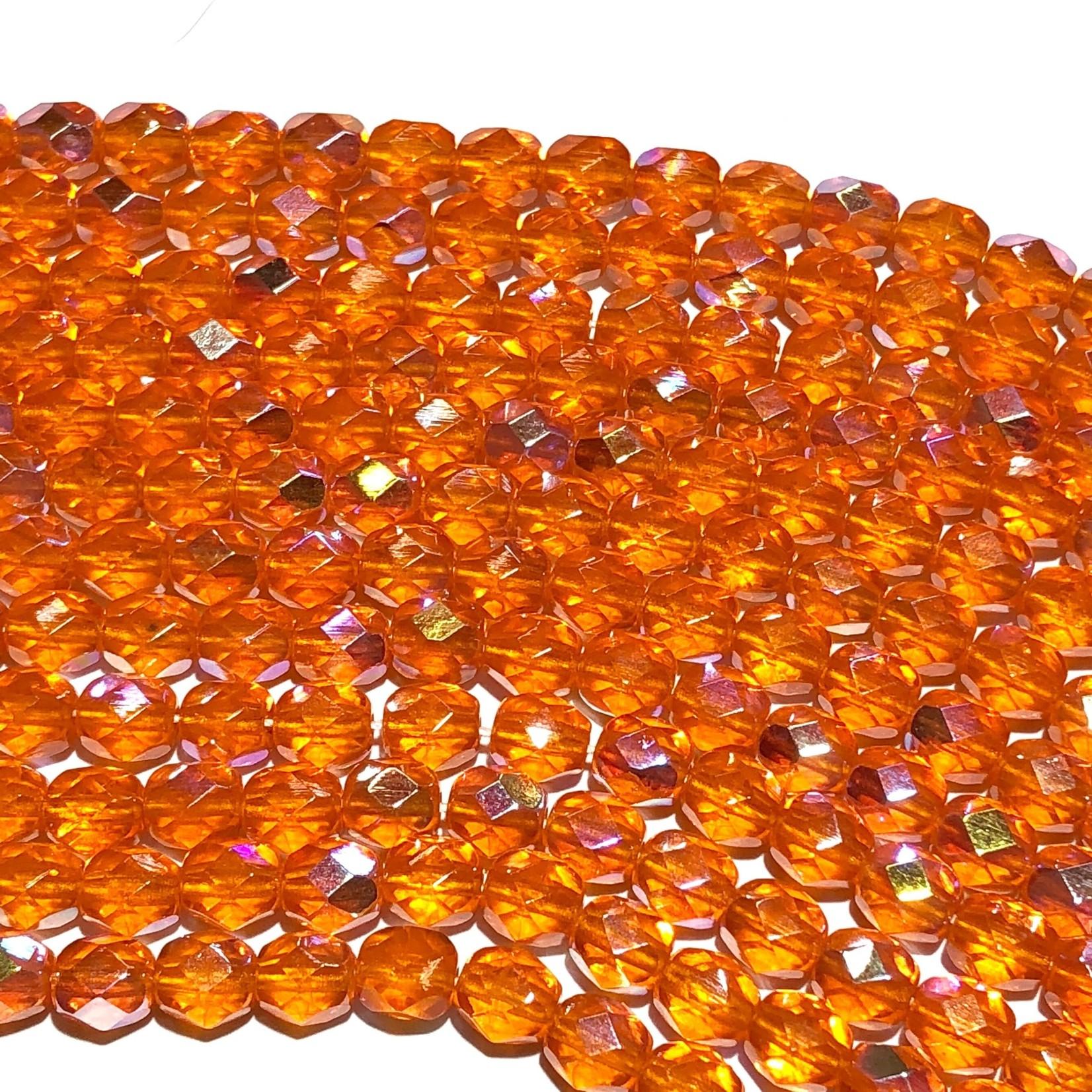 PRECIOSA Firepolish Hyacinth AB 6mm