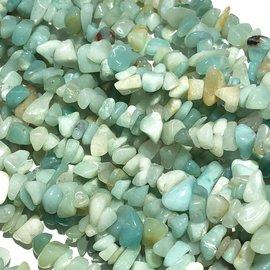 """AMAZONITE Chip Beads 34"""" Strand"""