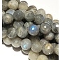 LABRADORITE Natural Grade AB 8mm Faceted