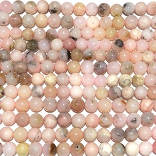 Natural Pink OPAL 6mm Round