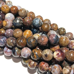 Natural Pietersite 8mm Round