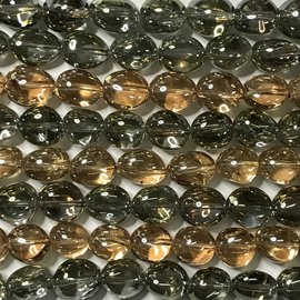 Natural Clear QUARTZ 10 x 14mm Oval Nuggets